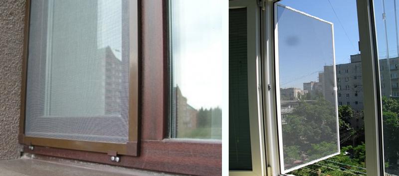 Для чего нужны москитные сетки на пластиковых окнах визаж.